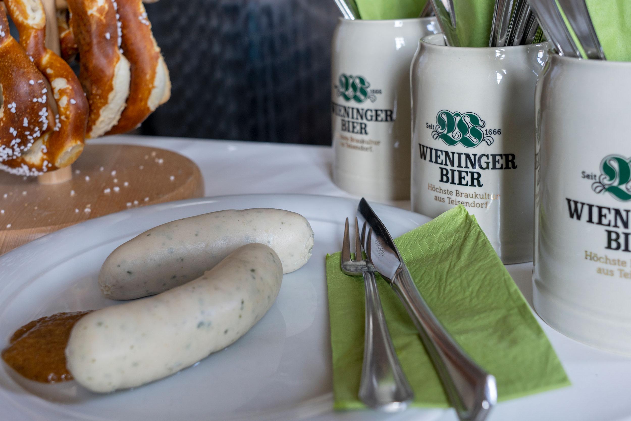 Wieninger Weißwurstfrühstück