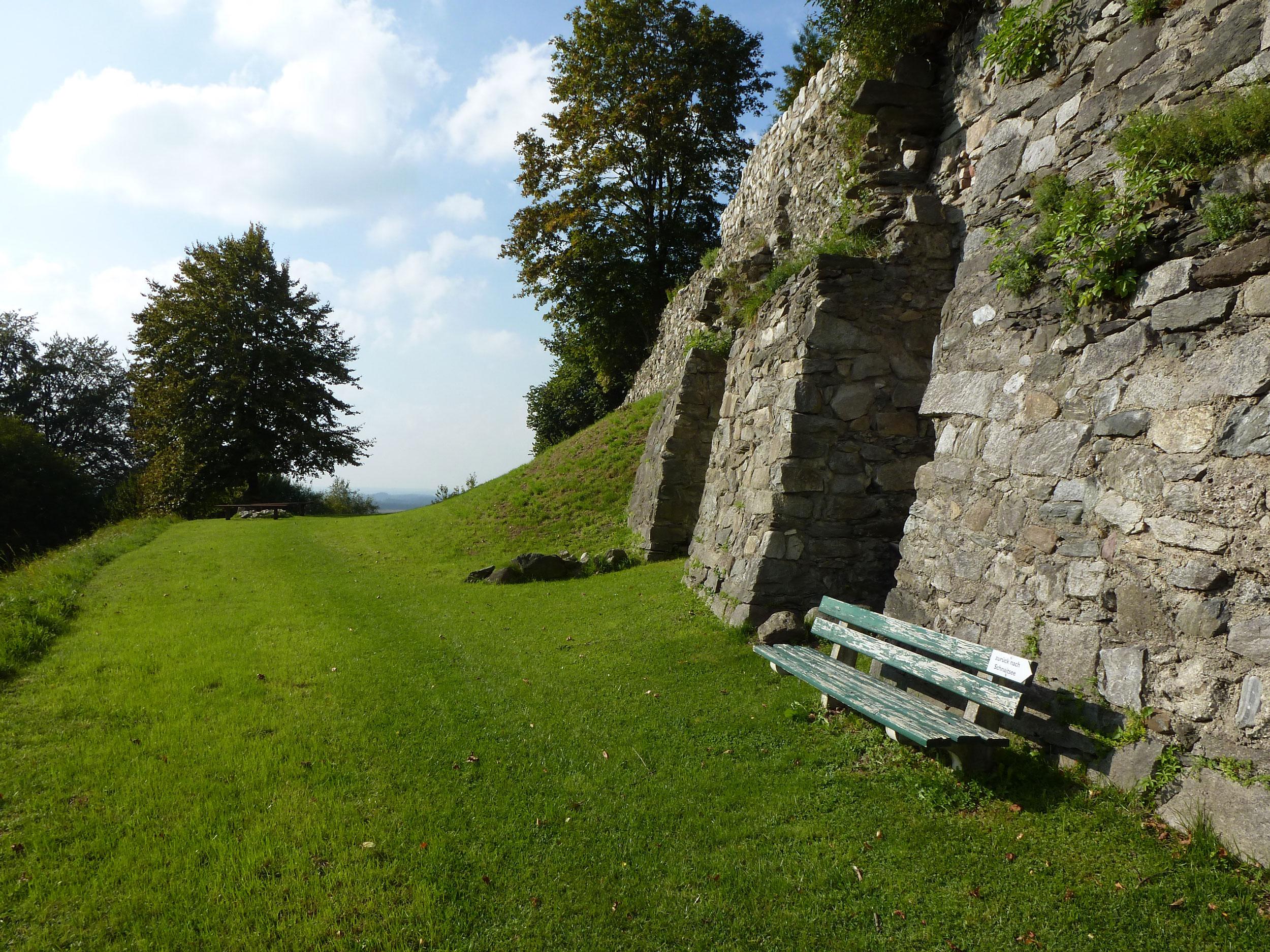 Schlossmauer Kling